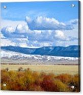 Vibrant Montana Acrylic Print