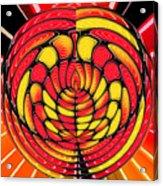 Vibrant Reds Acrylic Print