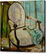 Vibrant Still Life Paintings - Afternoon Repose - Virgilla Art Acrylic Print