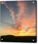 Vibrant Sunset Acrylic Print