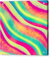 Vibrant Waves Acrylic Print