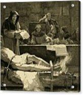 Victim Of The Spanish Inquisition Acrylic Print