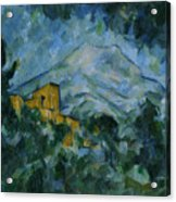Victoire And Chateau Noir Acrylic Print