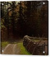 Victor Coleman Anderson  1882  1937 Road By The Woods Acrylic Print