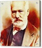Victor Hugo, Literary Legend Acrylic Print