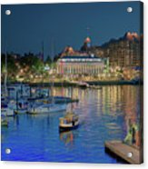 Victoria At Night Acrylic Print