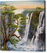 Victoria Falls Zimbabwe  Acrylic Print