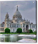 Victoria Memorial Hall Calcutta Kolkata Acrylic Print