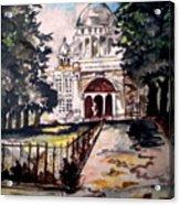 Victoria Memorial Acrylic Print