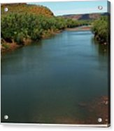 Victoria River Acrylic Print
