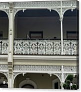 Victoria Street Balcony Acrylic Print