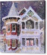 Victorian Christmas Acrylic Print