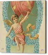 Victorian Cupid Acrylic Print