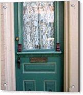 Victorian Door Acrylic Print