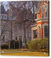 Victorian Era Houses Acrylic Print by Utah Images