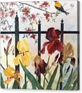 Victorian Garden Acrylic Print by Ben Kiger
