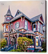 Gingerbread House Acrylic Print