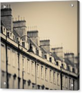 Victorian Houses In England Acrylic Print