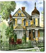Victorian In The Avenues Acrylic Print