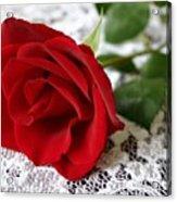 Victorian Rose Acrylic Print