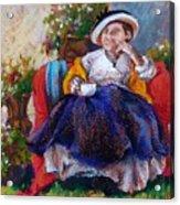 Victorian Tea Time Acrylic Print