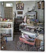 Victorian Toy Shop - Virginia City Montana Acrylic Print by Daniel Hagerman