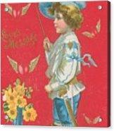 Victorian Valentine Acrylic Print