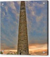 Victory - Bennington Battle Monument Acrylic Print