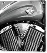 Victory Motorcycle Virginia City Nv Acrylic Print