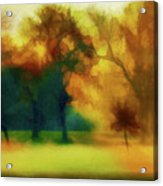 Victory Park Painted Acrylic Print