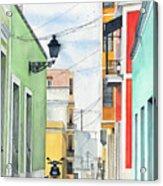 Viejo San Juan Acrylic Print