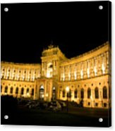 Vienna National Library Acrylic Print
