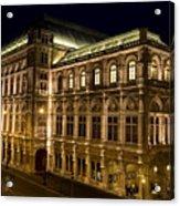 Vienna State Opera Acrylic Print