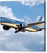 Vietnam Airlines Boeing 787 Dreamliner Acrylic Print