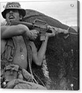 Vietnam War, Vietnam, Specialist. 4 Acrylic Print by Everett