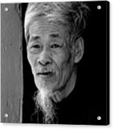 Vietnamese Village Elder Acrylic Print