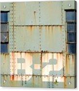 View B-2 Acrylic Print by Ben Freeman