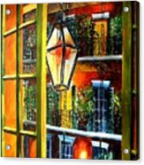 View From A French Quarter Balcony Acrylic Print