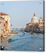 View From Accademia Bridge Acrylic Print