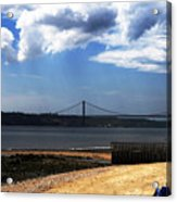 View From Across The Tagus Acrylic Print