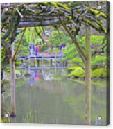 View From An Arbor Acrylic Print