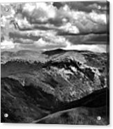 View From Atop Winter Park Mountain 3 Acrylic Print