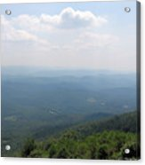 View From Bald Knob 2 Acrylic Print