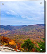 View From Bear Mountain Acrylic Print