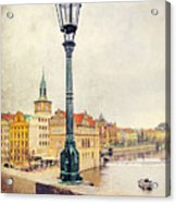 View From Charles Bridge Acrylic Print