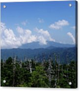 View From Clingman's Dome Acrylic Print