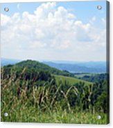 View From Copper Ridge Acrylic Print