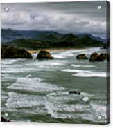 View From Ecola Acrylic Print
