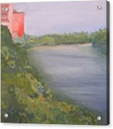 View From Edmund Pettus Bridge Acrylic Print