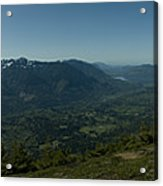 View From Elk Mountain Acrylic Print